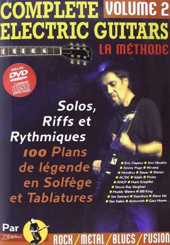 Complete Electric Guitars Vol.2 CD & DVD (Nouvelle Version) par Jean-Jacques Rébillard