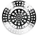Abflußsieb Ø 60 mm, chrom metallisiert, 5er Set