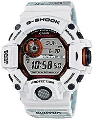 Casio G-Shock Burton GW-9400BTJ-8JR - Reloj de pulsera digital con receptor mundial de radio, funciona con energía solar