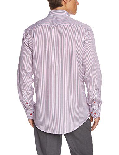 Seidensticker Herren Regular Fit Businesshemd KENT 186836 Rot (rot 44)