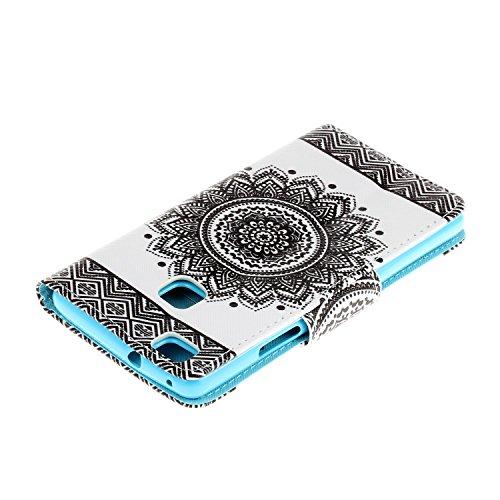 iPhone 6 6S Cover,Flip Cover Portafoglio Guscio Protettiva Custodia in Pelle per iPhone 6 6S Wallet Case Casi Caso Con carte di credito slot,Cozy Hut Elegante borsa Custodia in Pelle Protettiva Flip P fiore bilaterale