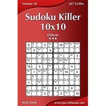 Sudoku Killer 10x10 - Difficile - Volume 10-267 Grilles