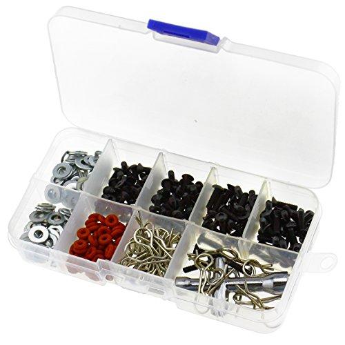 Preisvergleich Produktbild 270 Stk Schrauben DIY Set Reparatur Werkzeug RC Autoteile Für 1 / 10 Hsp Rc Auto