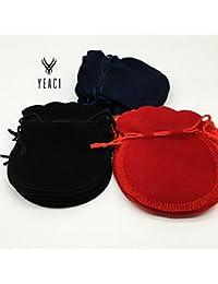 Generic Black : Hot Sale Sale Gift Box Organizer 100pcs 7x8cm Red Velvet Drawstring Pouch Bag/jewelry Bag,christmas...