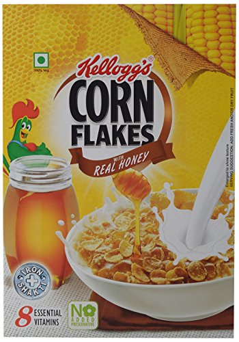 Kellogg's Corn Flakes with Real Honey, 300g