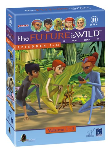 The Future is wild - 4 DVDs im Schuber ( 13 Episoden ) -