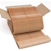 Caja de cushionPaper: el sustituto ecológico del plástico de burbujas. En la caja de 60 x 40 x 30 cm hay 12 metros x 60 cm de material. Hecho de papel reciclado y reciclable.