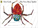 A classic picture book from Eric Carle - The Very Busy Spider.   Early one morning a little spider begins to spin her web on a fencepost and she doesn't stop until it is finished . . .    Alongside the visual excitement of Eric Carle's vibrant col...