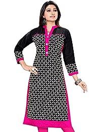 Amba Enterprises Plus Size Kurtis,Pakistani Kurtis, Long Straight Kurtis For Women, Cotton Kurta Kurti, Cotton...