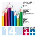 test und Finanztest Archiv CD-ROM 2014, CD-ROM Alle Hefte 2014 auf CD-ROM. Für PC, Mac und Linux