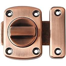Sayayo Rotar cerrojo puerta de pestillo pestillos puerta de seguridad cerradura de la puerta, rojo