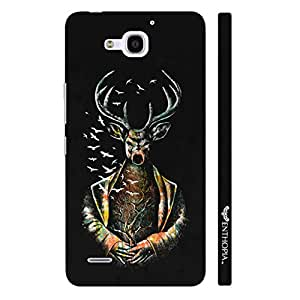 Enthopia Designer Hardshell Case Witchy Deer Back Cover for Huawei Honor 3X
