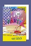 AvanCarte GmbH Drehzahlkarte Grußkarte Geburtstag Verstellbare Zahlen 1-99 Glück C6