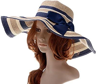 Vbiger Plegable Pamelas y Sombreros para Mujer