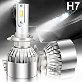 AMBOTHER HitsFR649 2 X H7 Phare Voiture LED 72W Headlight - Chips CSP 6000K
