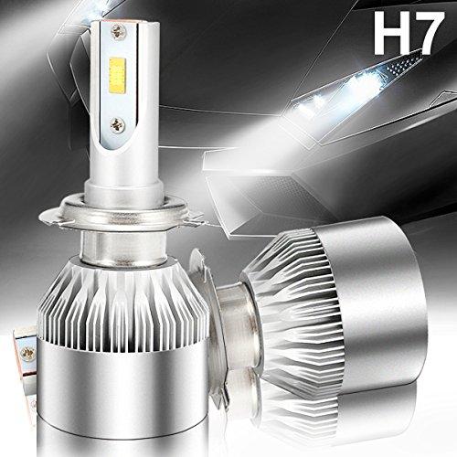 ambother 2x H4/H7/H11Leuchtturm/Code Auto LED (Hi/Lo) Beam-Set Leuchtmittel 72W Headlight Wasserdicht ip67- Chips CSP 6000K 7600lm mit Doppelzimmer caches-poussières