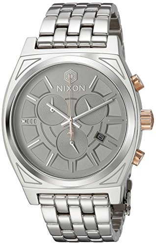 NIXON Men's Analogue Japanese-Quartz Watch with Stainless-Steel Strap A972SW2445-00