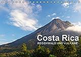 Costa Rica - Regenwald und Vulkane (Tischkalender 2019 DIN A5 quer): Faszinierende Bilder aus dem Tropenparadies (Monatskalender, 14 Seiten ) (CALVENDO Orte)