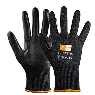 Zite Tools Paire de Gants de Protection Coupés - Taille 5 Pour Enfants - Level 5/5 EN 388