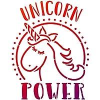 Universalschablone A4 -Unicorn Power-