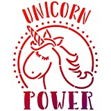 Universalschablone A4 -Unicorn Power-