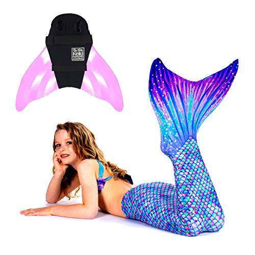Aurora Kostüm Für Erwachsene - SUN TAILS Premium Meerjungfrauen Flossen Set