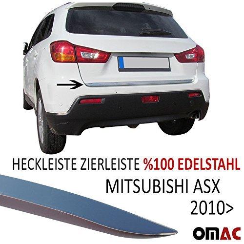 Preisvergleich Produktbild Mitsubishi ASX ab 2010 Chrom Heckleiste Zierleiste V2A aus Edelstahl