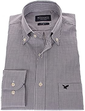 178632 - Bots & Bots - Camicia Uomo - Exclusive Collection - 100% Cotone - Button Down - Normal Fit