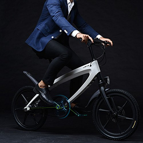 51U7cOW1O8L. SS500  - GTYW Electric Bicycle Mountain Bicycle City Fashion Simple Moped Removable Lithium Smart -Built-in Bluetooth Stereo Mountain Bike