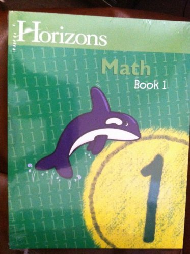 Horizons Math 1st Grade Homeschool Curriculum Kit, Complete Set (Alpha Omega Lifepac, Grade 1) (1998-04-03)