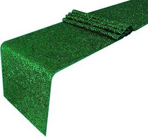 t Pailletten, Weihnachtsmotiv, 30 x 270 cm, Grün, 6 Stück ()