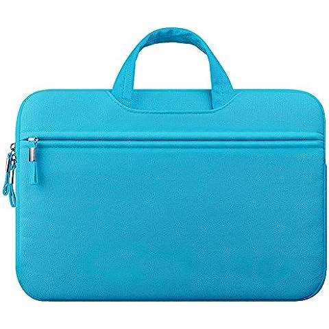 Tessuto di Tela Custodia Borsa Ventiquattrore Cartella Involucro Sleeve Case per Laptop / Notebook / Computer Portatile / MacBook / MacBook Pro
