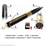 Pen with Hidden Camera with HD Quality Audio/Video Recording,16GB card Support