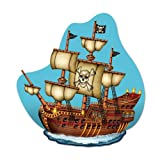 Pirate Ship Wall Plaque Party Accessory ...
