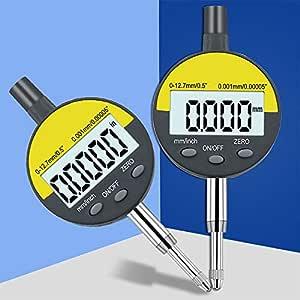 0-25mm Range Gauge Digital Dial Indicator Precision Tool 0.01mm//0.0005/'/'