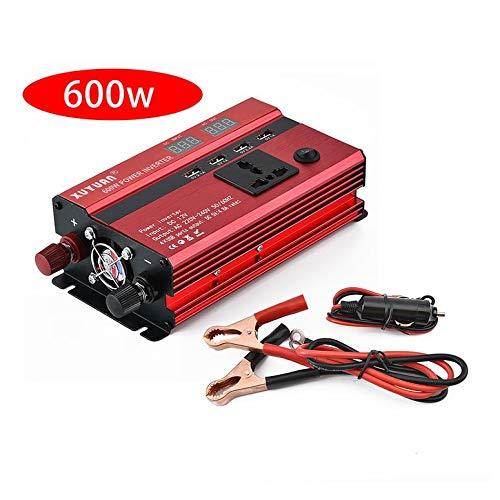 Lynn025Keats Professionelle 600W Power Inverter DC-AC-LED-Ventilator-Auto-Konverter Anzeige - 600 600w Power Inverter