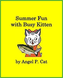 Summer Fun with Busy Kitten (English Edition)