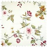 polstereibedarf-online Möbelstoff Flora Wildrose in
