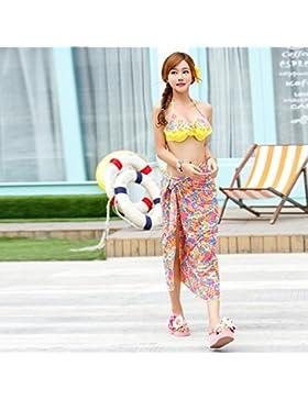 Conjuntos de Bikini Sexy traje de baño Trajes de baño 3 piezas de adelgazamiento Pizza Dulce 3 piezas Conjunto...