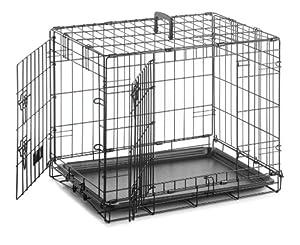 Sharples & Grant Cage pour chien Taille XL 107 x 71 x 76 cm (Noir)
