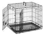 Bild: Sharples  Grant Transportkäfig für Hunde 107 x 71 x 76 cm Größe XL Schwarz