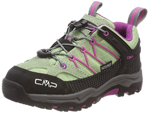 CMP Unisex-Kinder Rigel Trekking-& Wanderhalbschuhe, Grün (Linfa-Hot Pink), 30 EU