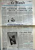 Telecharger Livres MONDE LE No 14211 du 05 10 1990 AUTOCRITIQUE SANDINISTE M FRANCOIS MITTERRAND ENTEND RASSURER LE ROI FAHD ACCORD SOVIETO AMERICAIN SUR LE DESARMEMENT EN EUROPE PAR MICHEL TATU LA CGE S ALLIE AVEC FIAT LE CAMBODGE MENACE D ASPHYXIE PAR JEAN CLAUDE POMONTI LE JAPON PUISSANCE EDITORIALE PAR PIERRE LEPAPE LES FORTUNES D APOLLON PAR MAURICE RHEIMS (PDF,EPUB,MOBI) gratuits en Francaise