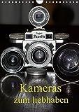 Kameras zum liebhaben (Wandkalender 2019 DIN A4 hoch): Klassische Fotoapparate der 20er bis 70er Jahre. (Monatskalender, 14 Seiten ) (CALVENDO Hobbys)