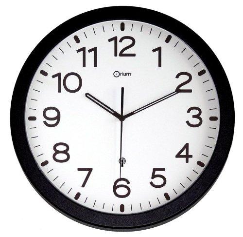 orium-11695-rc-pendule-avec-pile-noir-diametre-30-cm