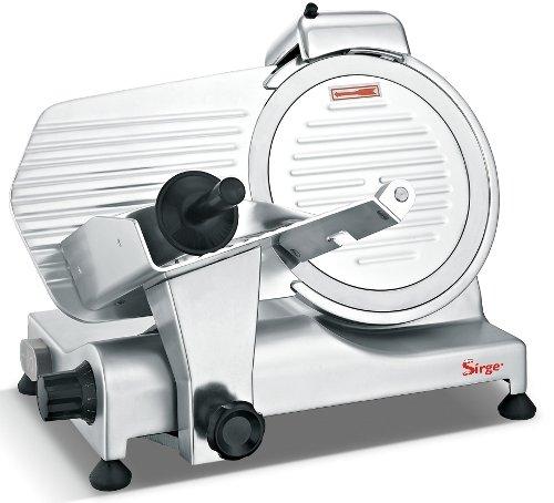 Sirge AFFPROF25 Affettatrice Professionale SemiAutomatica a gravità [320 WATT - Lunghezza taglio...