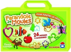 Dujardin - 57341 - Coloriage - Farandole 24 Moules