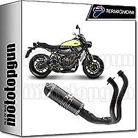 TermiGNONI - Tubo de Escape Completo Race CN - Elevador de Carbono para Yamaha XSR 700