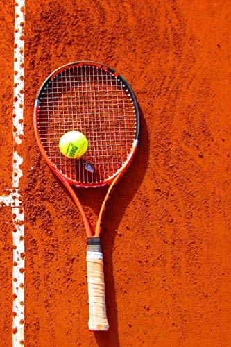 Tennis Notebook: Composition Notebook with College Ruled Line Paper