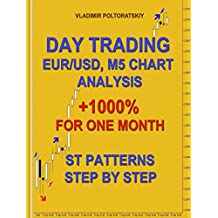 Day Trading EUR/USD, M5 Chart Analysis +1000% for One Month ST Patterns Step by Step (English Edition)